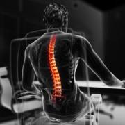 Schlechte Körperhaltung und ihre Folgen