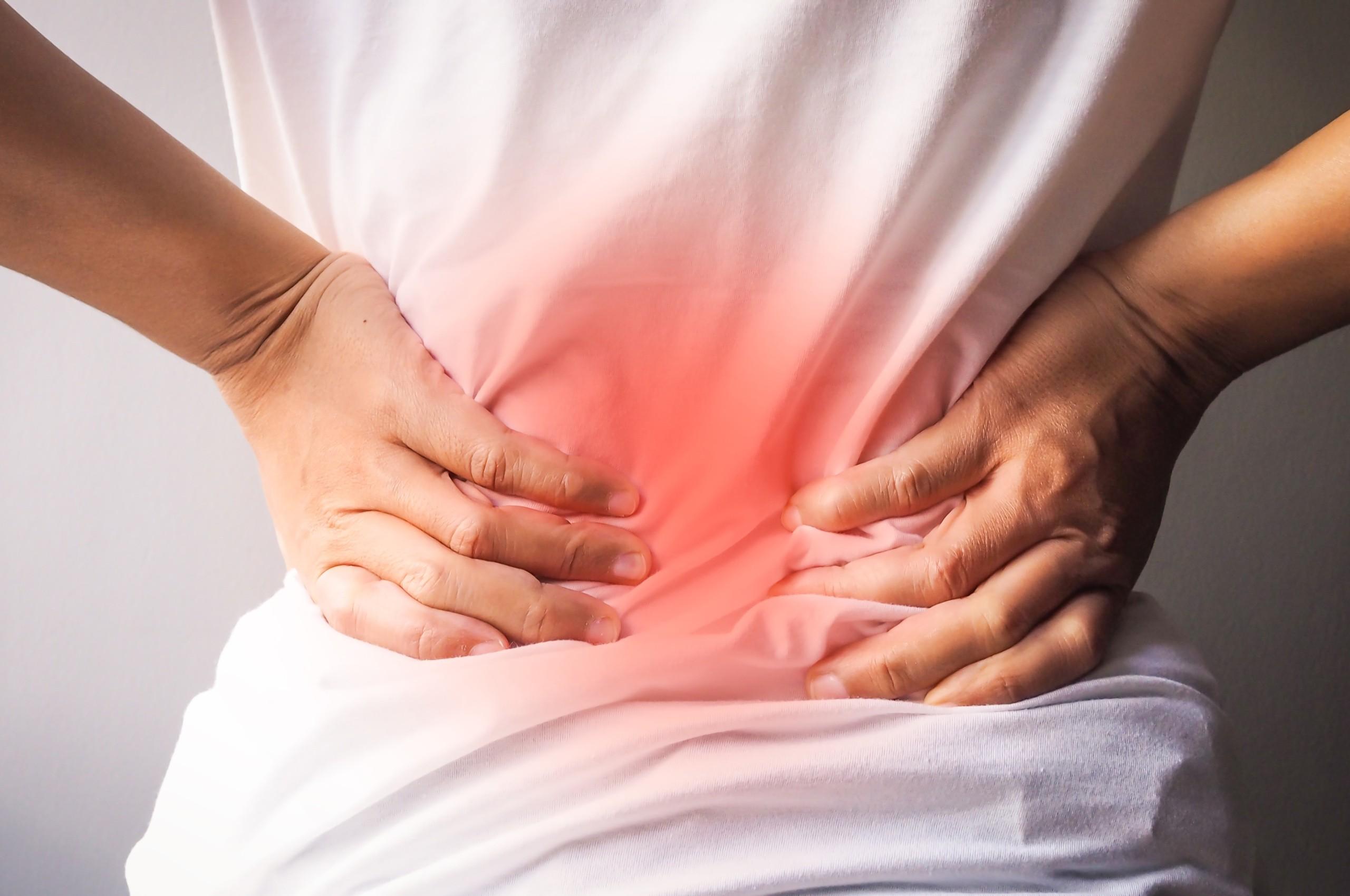 Physio-Freudensprung-Rückenschmerzen